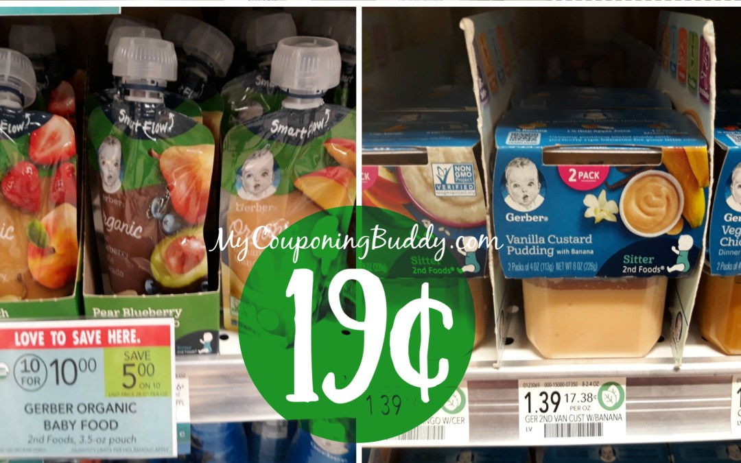 Sneak Peek Publix Weekly Sale 2/19-2/25 or 2/20-2/26 Gerber Baby Foods