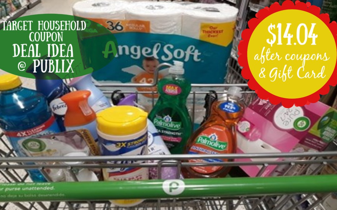 Target Household Deal idea at Publix w/ coupons