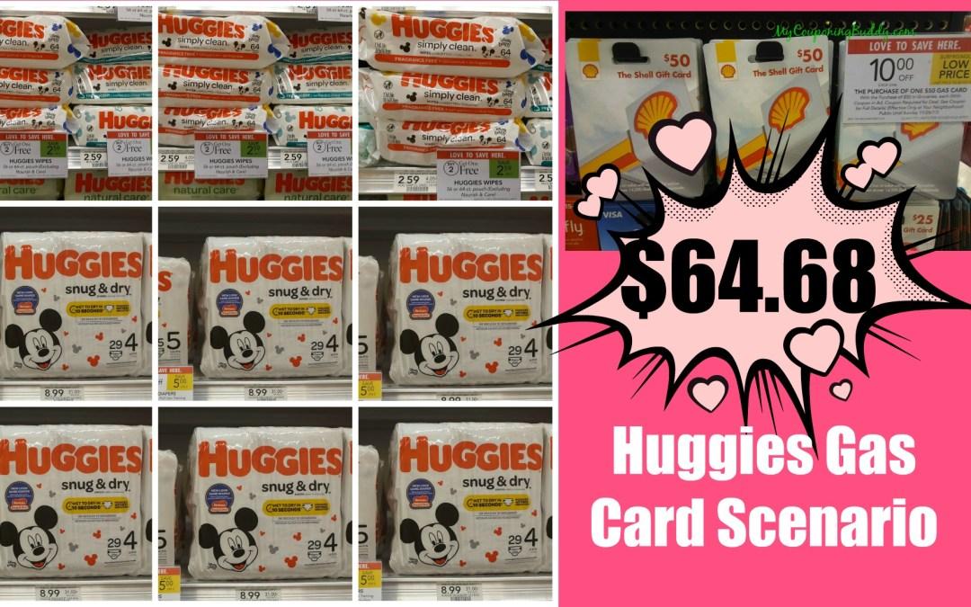 huggies gas card Publix Scenario