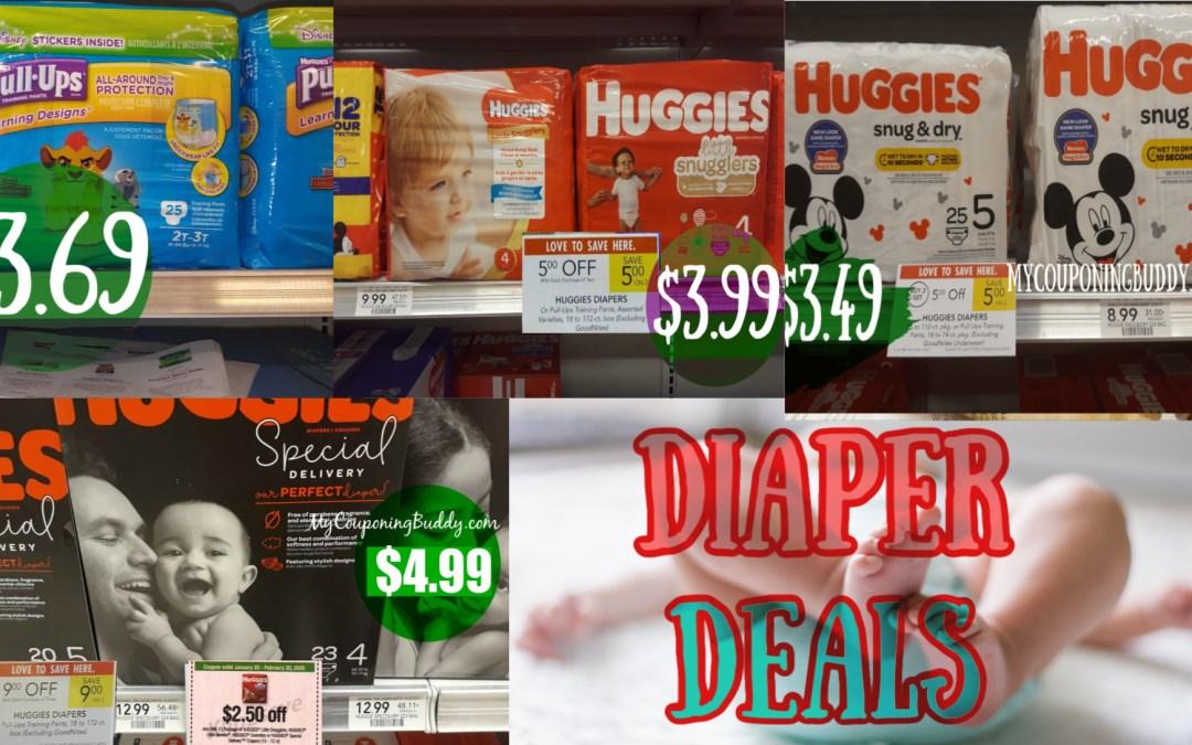 Huggies Diaper Deals at Publix