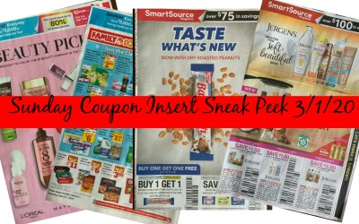 Sunday Coupon Insert Sneak Peek 3/1/20