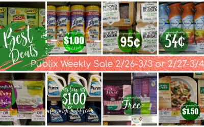 Break Downs of the Best Deals of the Publix  Weekly Sale 2/26-3/3 or 2/27-3/4