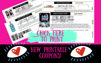New Printable Coupons ~ HOT New Finish Coupon