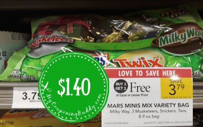 New Coupon ~ Mars Minis Easter Candy $1.40 at Publix