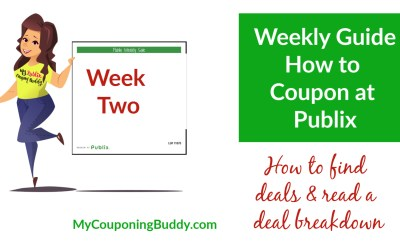 How to Coupon at Publix: Week Two