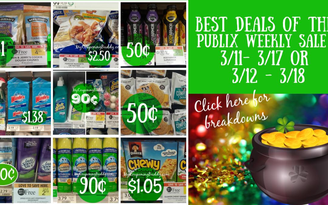 Sneak Peek of Publix Weekly Sale 3/11- 3/17 or 3/12 - 3/18