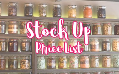 Stock Up Price List – My Couponing Buddy