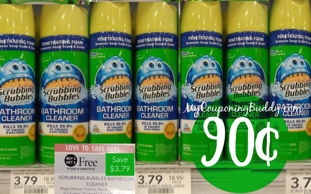 Scrubbing Bubbles Bathroom Cleaner Publix