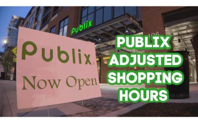 Publix Adjusted Store Hours 5/16/20