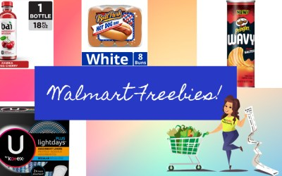 Walmart FREEBIES after coupons & cashback