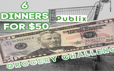 $50 Challenge: 6 Dinners for less than $50 this week at Publix