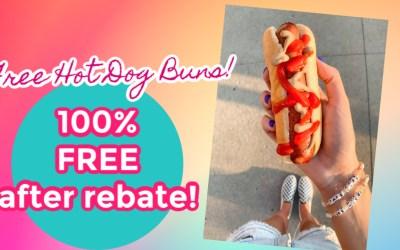 FREE Hot DOg Buns w/Coupons.com App