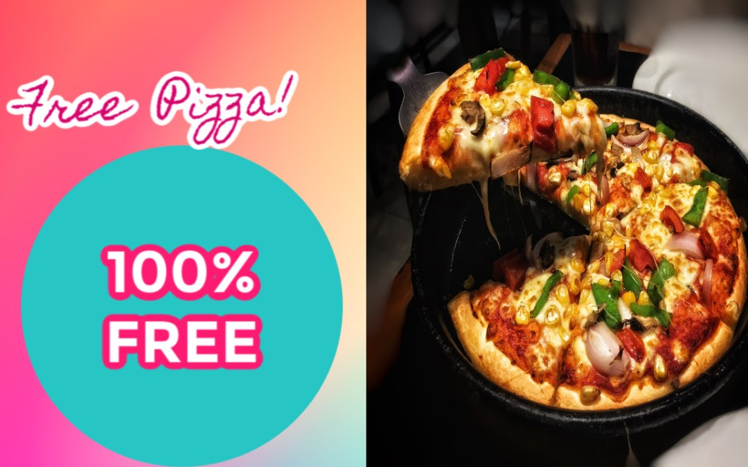 Free Medium 1 Topping Pizza at Pizza Hut – 1st 500,000