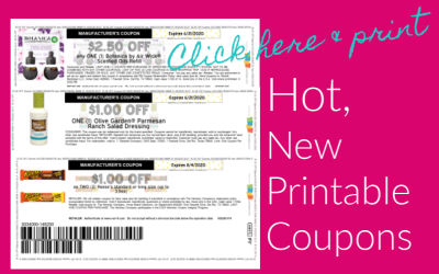 New Printable Coupons – HOT Airwick & Reese's & more
