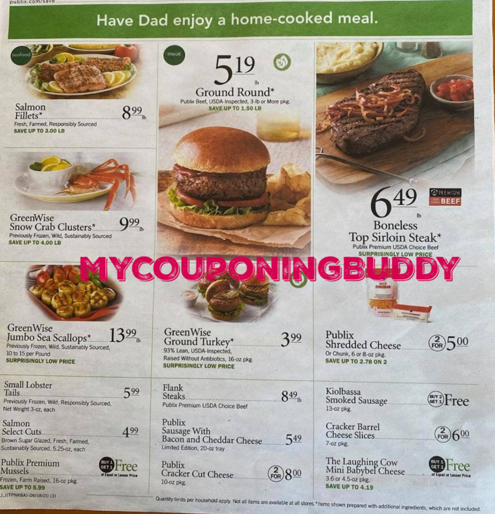 Below you will find the upcoming Publix Weekly Ad Preview 6/17 - 23 or 6/18 - 6/24