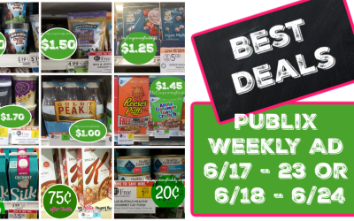 Best Deals of the Publix Weekly Ad 6/17 – 23 or 6/18 – 6/24