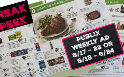Publix Weekly Ad Preview 6/17 – 23 or 6/18 – 6/24
