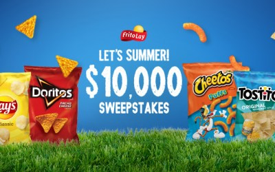 Frito Lay ~ Let's Summer $10,000 Sweepstakes