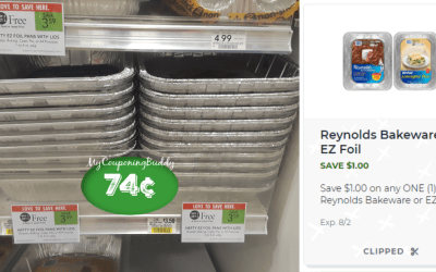 Hefty EZ Foil Pans w/ Lids as low as 74¢ at Publix