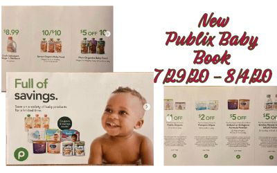 New Publix Baby Book 7/29/20 – 8/4/20