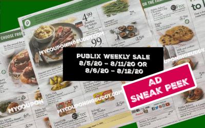 Publix Weekly Sale AD SNEAK PEEK 8/5/20 – 8/11/20 or 8/6/20 – 8/12/20
