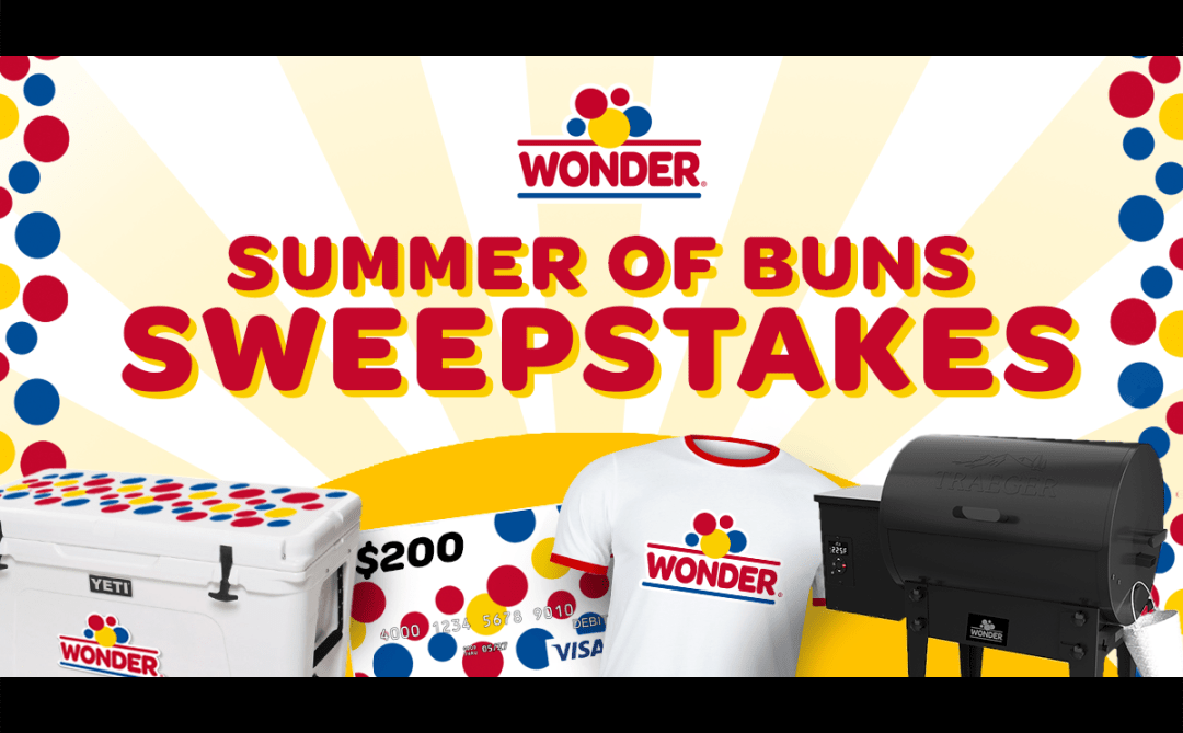 Wonder Bread Summer of Buns Sweepstake