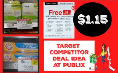 Target Personal Care Coupon Deal Idea at Publix