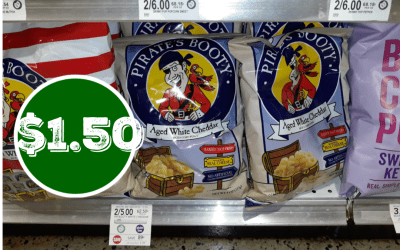 Pirate' Booty Popcorn $1.50 at Publix