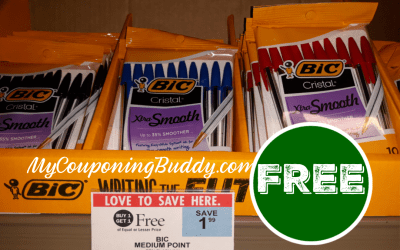 Still going! FREE Bic 10 ct.Pens at Publix