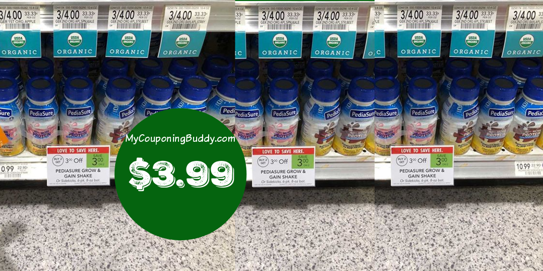 Publix couponing deal Pediasure sidekicks