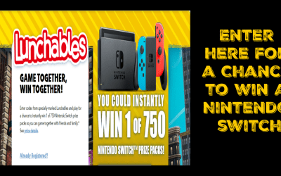 Lunchables – Gaming Together Giveaway