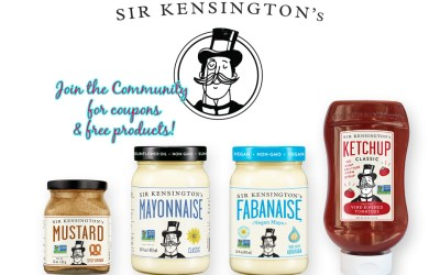 FREE Sir Kensington's Product coupons for some!