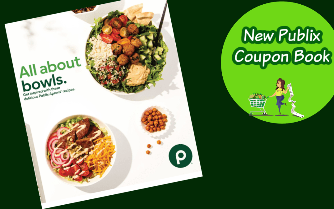 New Publix Coupon Book All about the Bowls, Valid: 10/1/2020 – 10/21/2020.