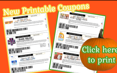 HOT New Printable Coupons!!!! Print HERE