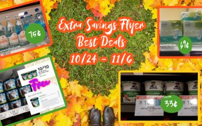 Publix Extra Savings Flyer Best Deals 10/24/20 – 11/6/20