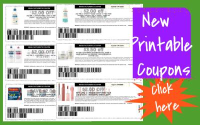 New Printable Coupons ~ new Aveeno, Pillsbury & more!