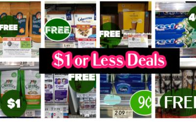$1 or less PUBLIX deals