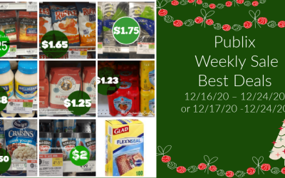 Publix Weekly Sale 12/16/20 – 12/24/20 or 12/17/20 -12/24/20