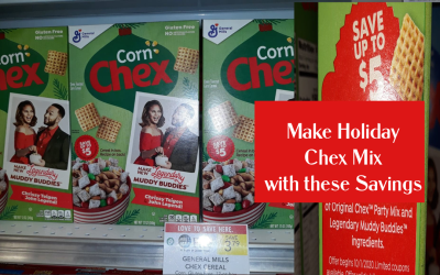 2 Coupons to Save on Holiday Chex Mix!