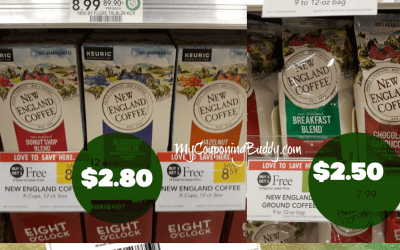New England Coffee $2.50 at Publix