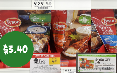 Tyson Chicken Strips $3.40 at Publix