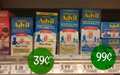 Infant's & Children's Advil 39¢ at Publix