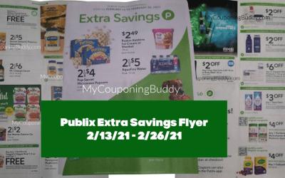 Sneak Peek ~ Publix Extra Savings Flyer 2/13/21 – 2/26/21
