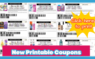 New printable coupons! Johnson's, Revlon, Jergens & More