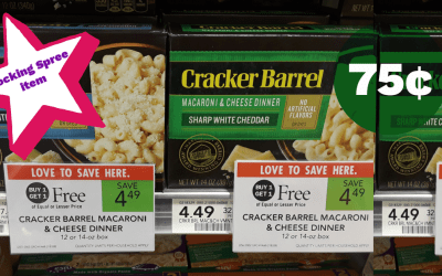 Cracker Barrel Mac & Cheese 75¢ after Ibotta at Publix