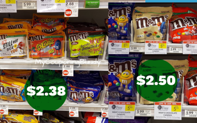 M&M's as low as $2.38 at Publix