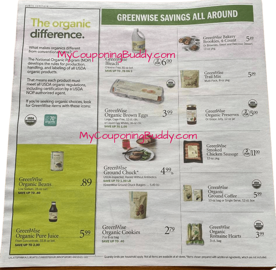 Publix Weekly Ad 4/14/21 – 4/20/21 or 4/15/21-4/21/21  Early Preview