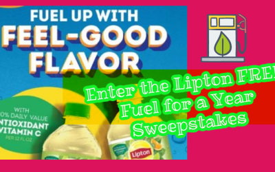 Enter to Win $2,000 gift card for Gas from Lipton!