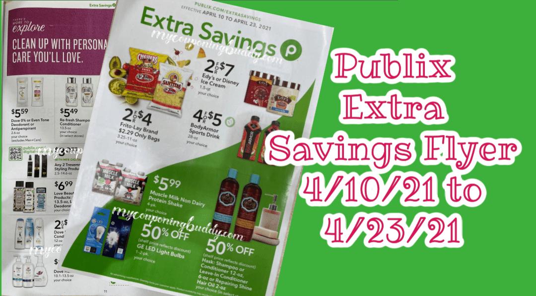 Sneak Peek Publix Coupon Extra Savings Flyer