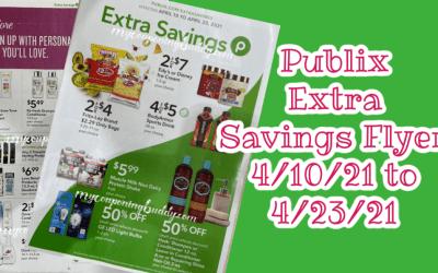Publix Extra Savings Flyer Sneak Peek 4/10/21 – 4/23/21